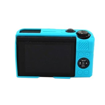 Silicone Rubber Camera Case Bag Cover For Canon Powershot G7X Mark2G7X II G7X2 G7X MarkII Camera - intl