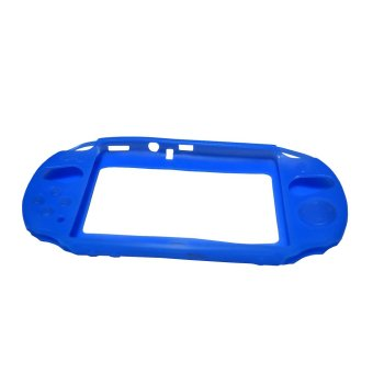 Silicone Skin Case for PS Vita 2000/Vita Slim (Blue)