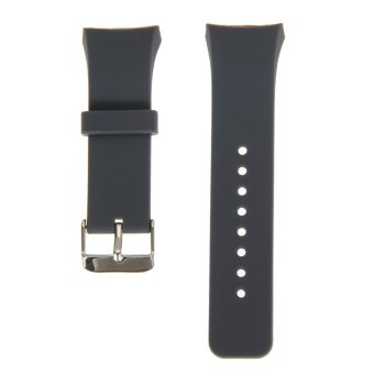 Silicone Watch Band Strap For Samsung Galaxy Gear S2 SM-R720(Grey)