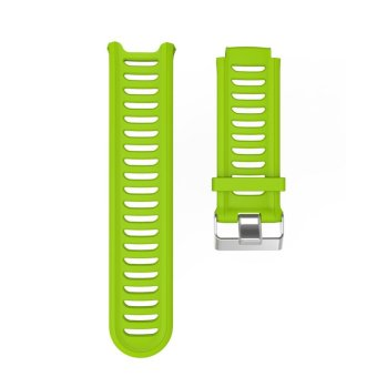 Silicone Watch Bands Strap for Garmin Forerunner 910XT GPS (Lime) -intl