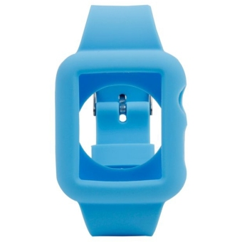 Silicone Watchband Replacement for Apple Watch 38mm Blue