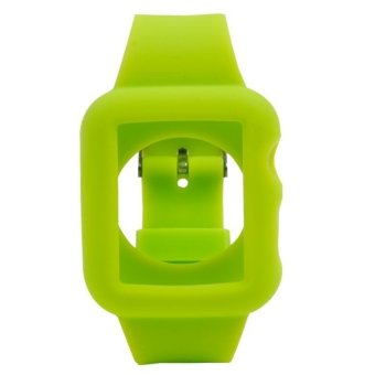 Silicone Watchband Replacement for Apple Watch 38mm Green