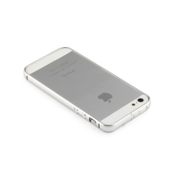 Silver Aluminum Metal Bumper Frame Case Cover for Apple iPhone 5 /5S / SE