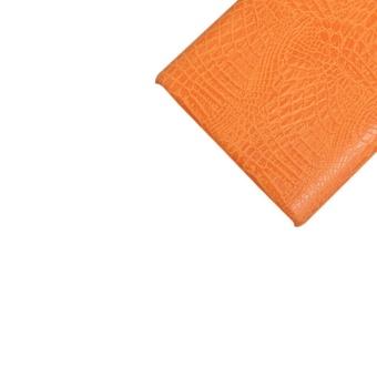 Simple Crocodile Stripe Protection Back Cover For Blackberry Passport Q30(Orange) - 5
