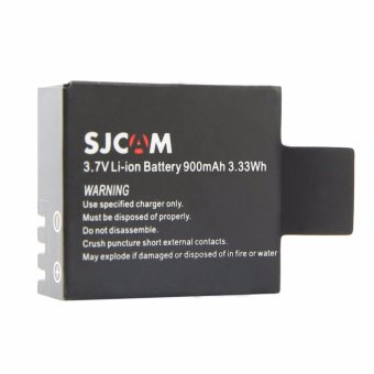 SJCAM 900mAh Li-ion Replacement Rechargeable Battery (Black)