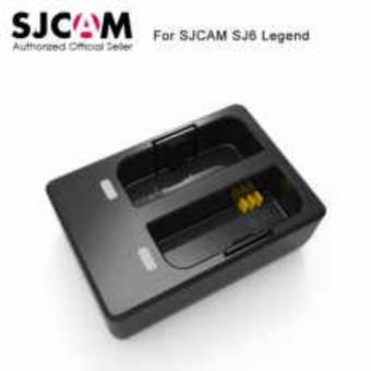 SJCAM Dual Battery Charger for SJ6 LEGEND Sport Action Camera Accessories
