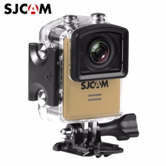 SJCAM M20 16MP 4k 24FPS Ultra HD 166 Degree Wide Angle Lens Wi-Fi Sports Action Camera (Gold)