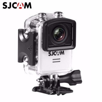 SJCAM M20 16MP 4k 24FPS Ultra HD 166 Degree Wide Angle Lens Wi-Fi Sports Action Camera(White)