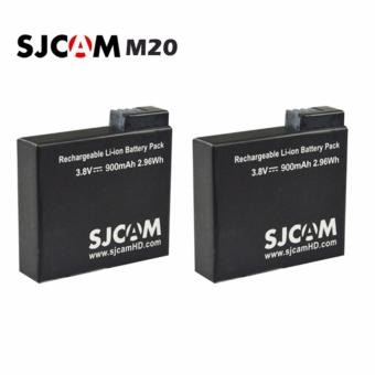 SJCAM M20 900mAh Rechargeable Battery Set of 2 (Black) Price Philippines