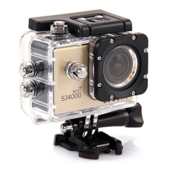 SJCAM SJ4000 Wifi-D Action Camera (Gold)
