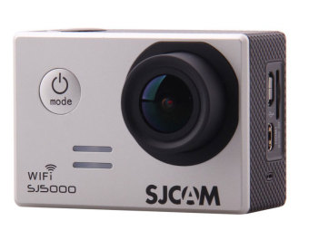 SJCAM SJ5000 14MP Full HD Action Camera (Silver)