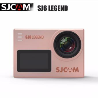 SJCAM SJ6 Legend 16MP 4K WiFi Touch-Screen Action Camera (Rose Gold)