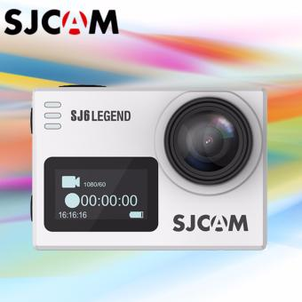 SJCAM SJ6 Legend 16MP WiFi 4K Action Camera (Silver)