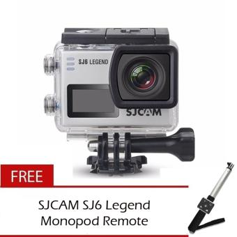SJCAM SJ6 Legend 4K Wifi Action Camera Free Monopod with Remote