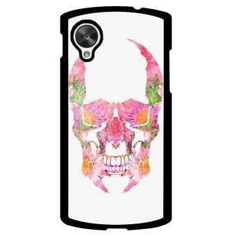 Skull Tattoo Pattern Phone Case for LG Nexus 5 (Multicolor)