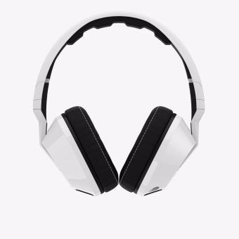 Image Detail Skullcandy Crusher S6SCFZ-072 Over the Ear Headphones with FREESkullcandy S2DUDZ-072 In Ear Headphone (White) Full