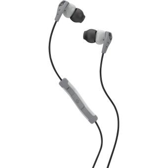 Skullcandy Method S2CDGY-405 In-Ear Headphones (Light Grey/Grey)