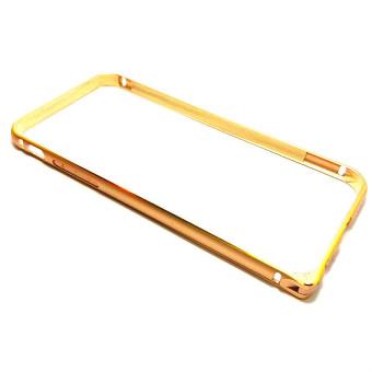 "Sleek Metal Bumper for 5.5"" iPhone 6 Plus/6s Plus (Gold)"