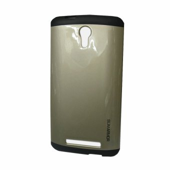 Slim Armor Case for Alcatel One Touch Flash Plus (Gold)