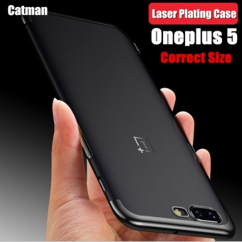 Slim Fashion Oneplus 5 Case Original Shockproof Laser Plating Soft Ultra Thin Back Cover Case For One Plus 5 Based On Snapdragon 835/oneplus 5 case - intl