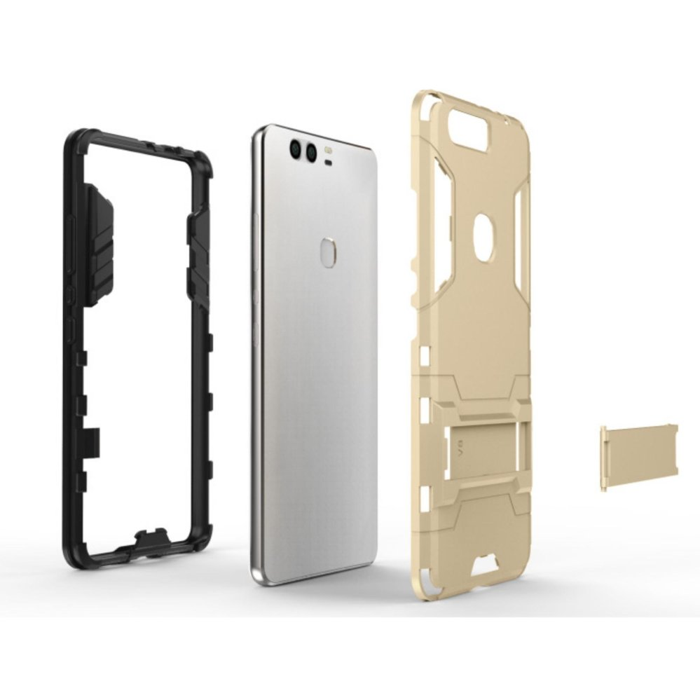 [Slim Fit] [Kickstand Feature] Hybrid Dual Layer Armor Defender Full Body Protective