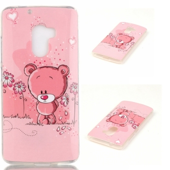 Slim Fit Soft TPU Back Case Cover For Lenovo K4 Note A7010 (Bear) -intl