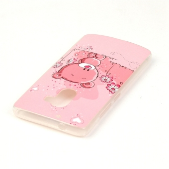 ... Slim Fit Soft TPU Back Case Cover For Lenovo K4 Note A7010 (Bear) -