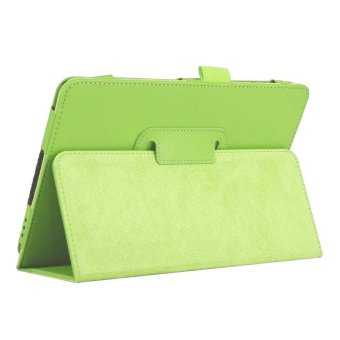 Slim Leather Case Cover for Samsung Galaxy Tab A 8.0 inch TabletSM-T350 (Green)