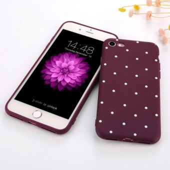 Slim Shockproof Silicone Polka Dot Soft TPU Case Cover For iPhone 6Plus/6s Plus - intl Price Philippines