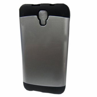 Slim Two Tone Hard TPU Case for Cherry Mobile Omega HD3 (Silver)
