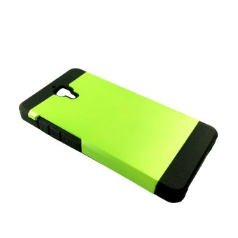 Slim Two Tone Protective Case for Xiaomi M4 (Lime Green)