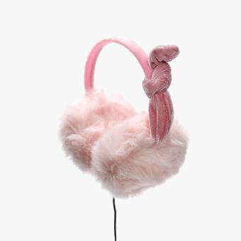 SM Accessories Girls Earmuff Headphones (Pink)