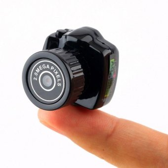 Smallest Mini Camera Camcorder Video Recorder DVR Spy Hidden Pinhole Web cam OE, TF,Micro SD,Up to 32GB(Memory card is not included) - intl