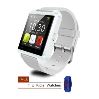 Smart Bluetooth Watch for Android/iOS Smartphone + Free Gift - intl