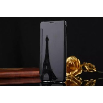 Smart Sleep Mirror Flip Case Cover For LG V10(black) - intl