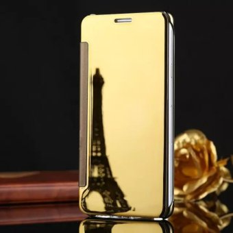 Smart Sleep Mirror Flip Case Cover For LG V10(gold) - intl