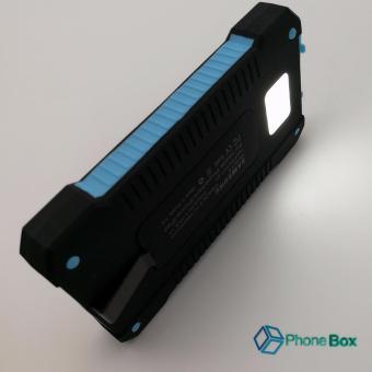 Smart USB Backup Power Solar Power Box 198000 (blue) - 4