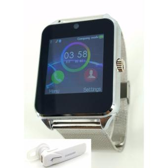 Smart Watch Phone with SIM and TF Card Free Samsung Bluetooth Headset