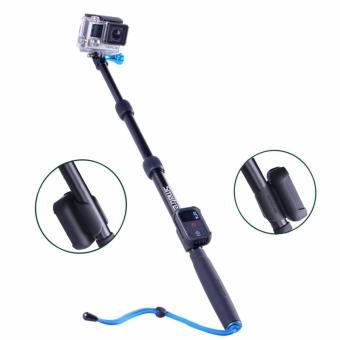 Smatree SmaPole S2 Extendable Pole for GoPro Hero 5/4/3+/3/2/1SJCAM Yi Cam (Black)