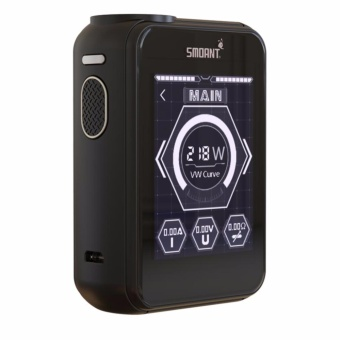 Smoant Charon TS 218W Touch Screen Variable Wattage Temperature Control Box Mod Electronic Cigarette (Black)