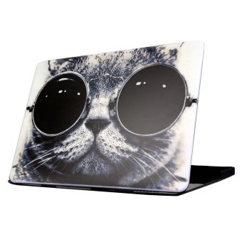 Snap-on Hard Case for Macbook Air 13.3 Inch - Cool Cat Wearing Sunglasses - intl