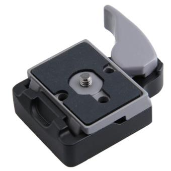 SOBUY RC2 System Quick Release Adapter for Manfrotto Tripod 200PL-14 QR Plate(Gray)