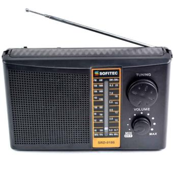 Sofitec SRD-0186 FM/AM/SW1-2 Radio (Black)