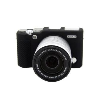 Soft Camera Bag Silicone Case Rubber Camera Protective Body Casefor Fujifilm XA3 X-A3 XA10 X-A10 - intl