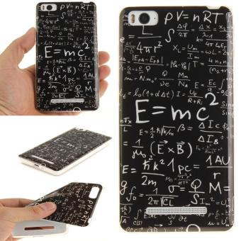 Soft Fit TPU Phone Back Cover For Xiaomi Mi 4i 4C (Math Formulas) -intl