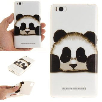 Soft Fit TPU Phone Back Cover For Xiaomi Mi 4i 4C (Panda) - intl