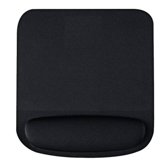 Soft Mouse Pad with Wrist Rest Support Pad Non-Slip ComfortableMouse Mat for Surfing and Gaming Black - intl
