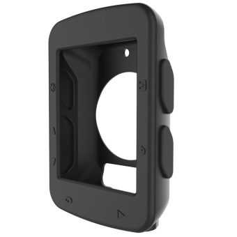 Soft Protective Silicone Rubber Case for Garmin Edge 520 CyclingComputer(Black) - intl