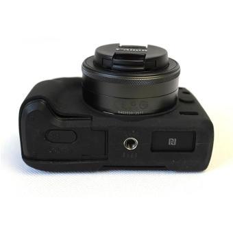 Soft Silicone Gel Rubber Camera Case Cover for Canon EOS M3(Black)- intl - 5