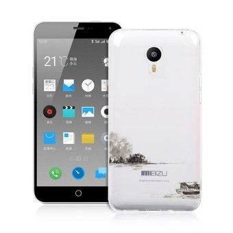 Soft TPU Back Cover for Meizu M2 Note (White) - intl Price Philippines